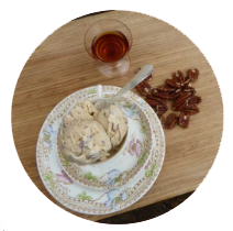 Maple and Pecan Ice Cream
