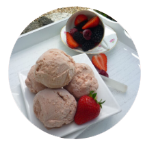 Summer Berry Ice Cream